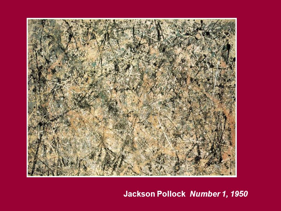 Number 1, 1950 Jackson Pollock
