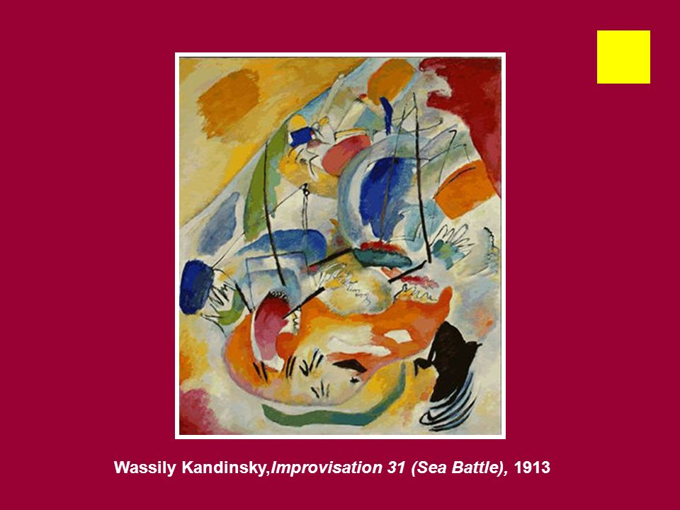 Wassily Kandinsky,Improvisation 31 (Sea Battle), 1913