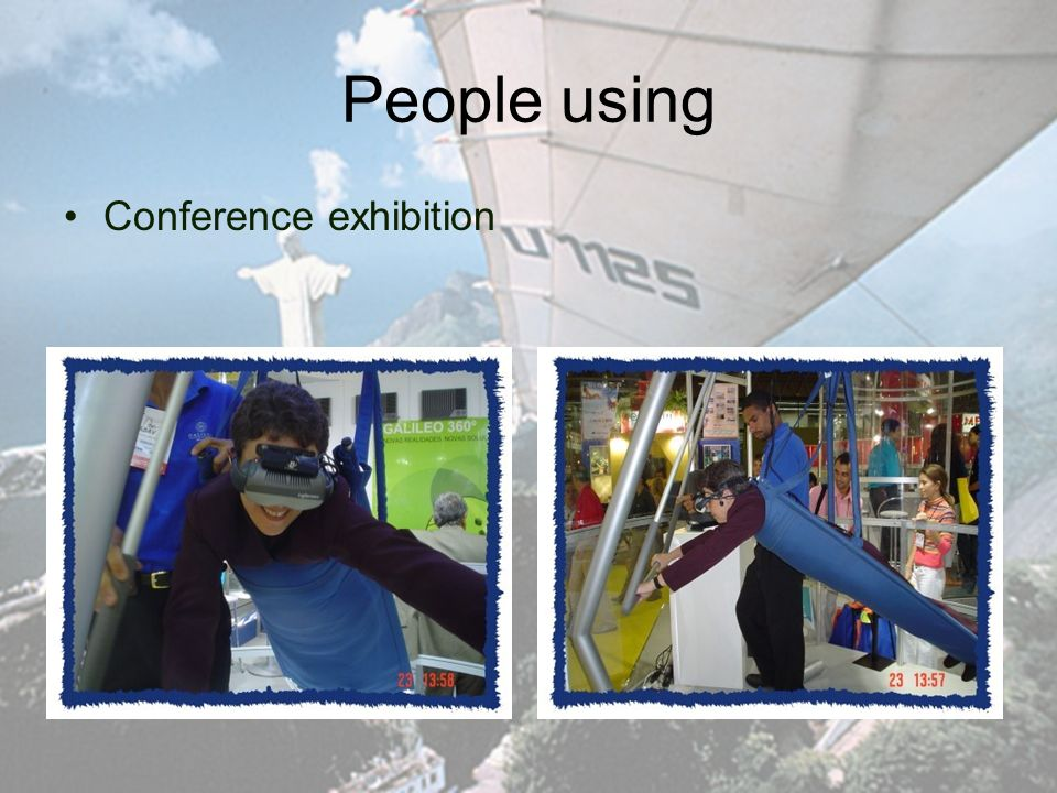 People using Conference exhibition