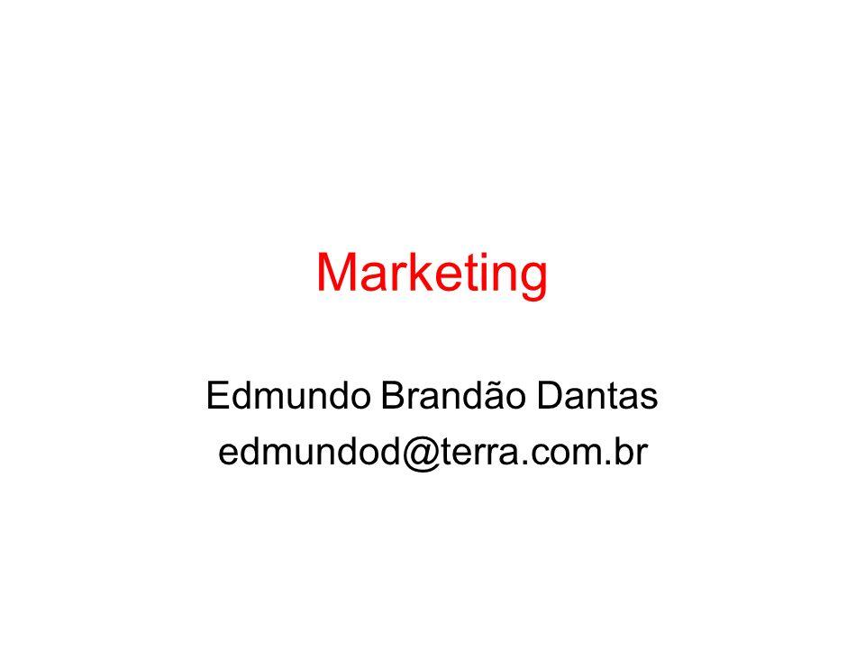Marketing Edmundo Brandão Dantas edmundod@terra.com.br