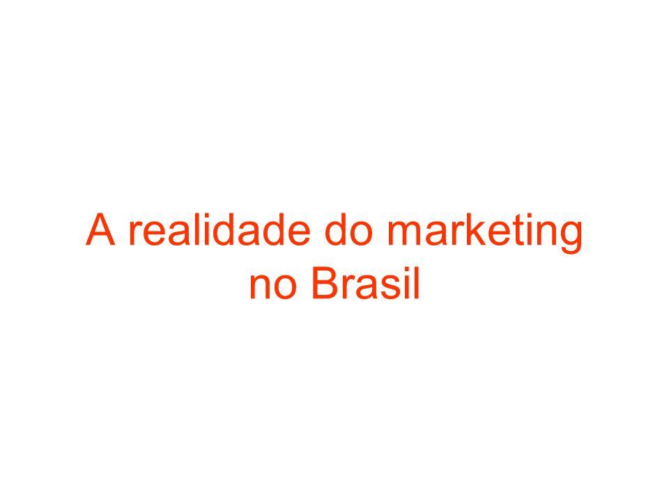 A realidade do marketing no Brasil