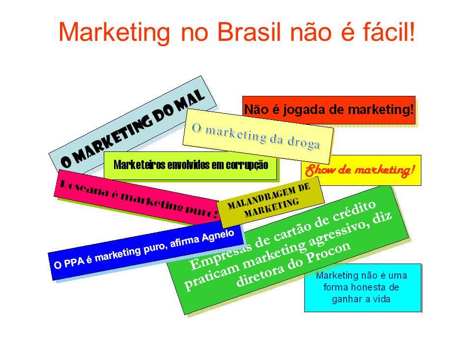Marketing no Brasil não é fácil!