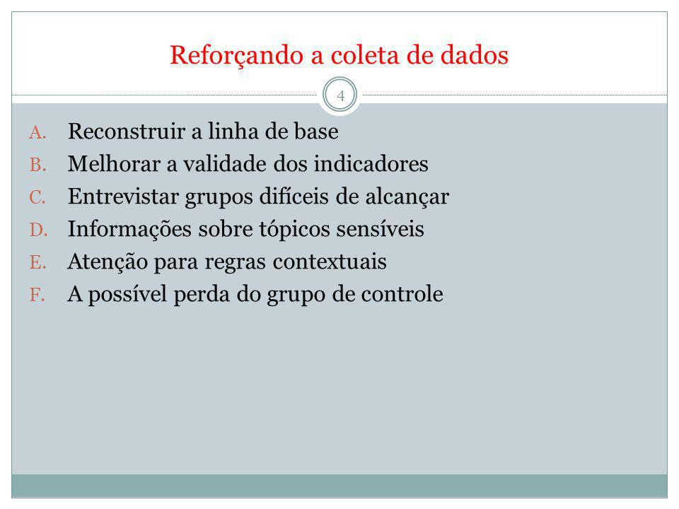 Reforçando análise e utilização dos resultados de avaliação 5 A.