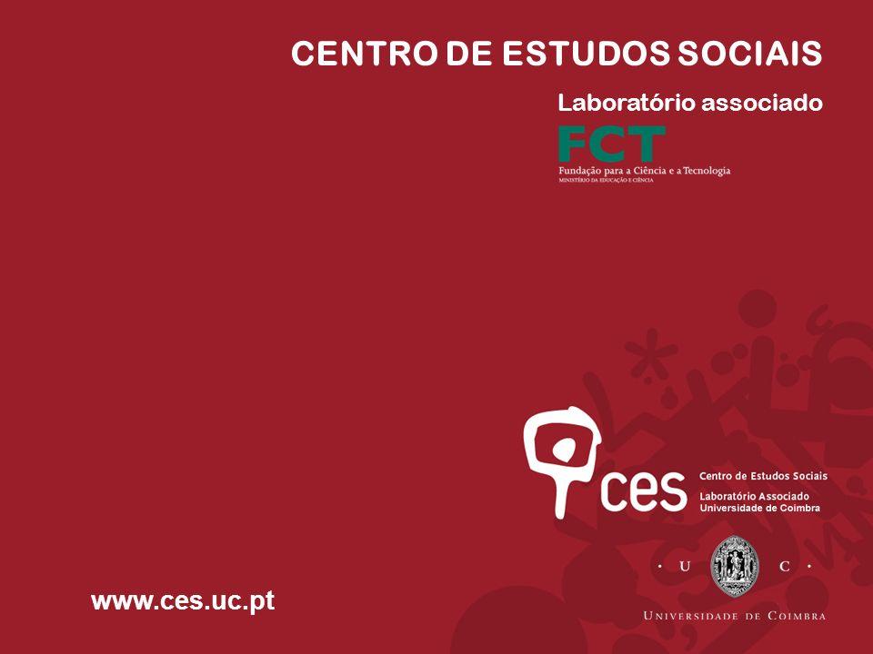 CENTRO DE ESTUDOS SOCIAIS Laboratório associado www.ces.uc.pt