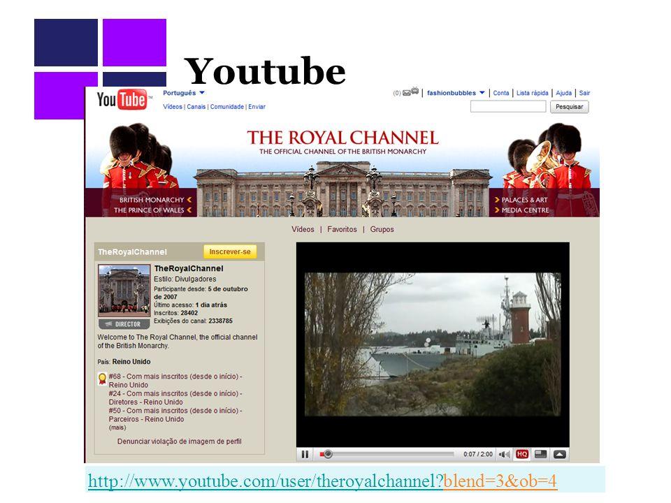Youtube http://www.youtube.com/user/theroyalchannel?http://www.youtube.com/user/theroyalchannel?blend=3&ob=4