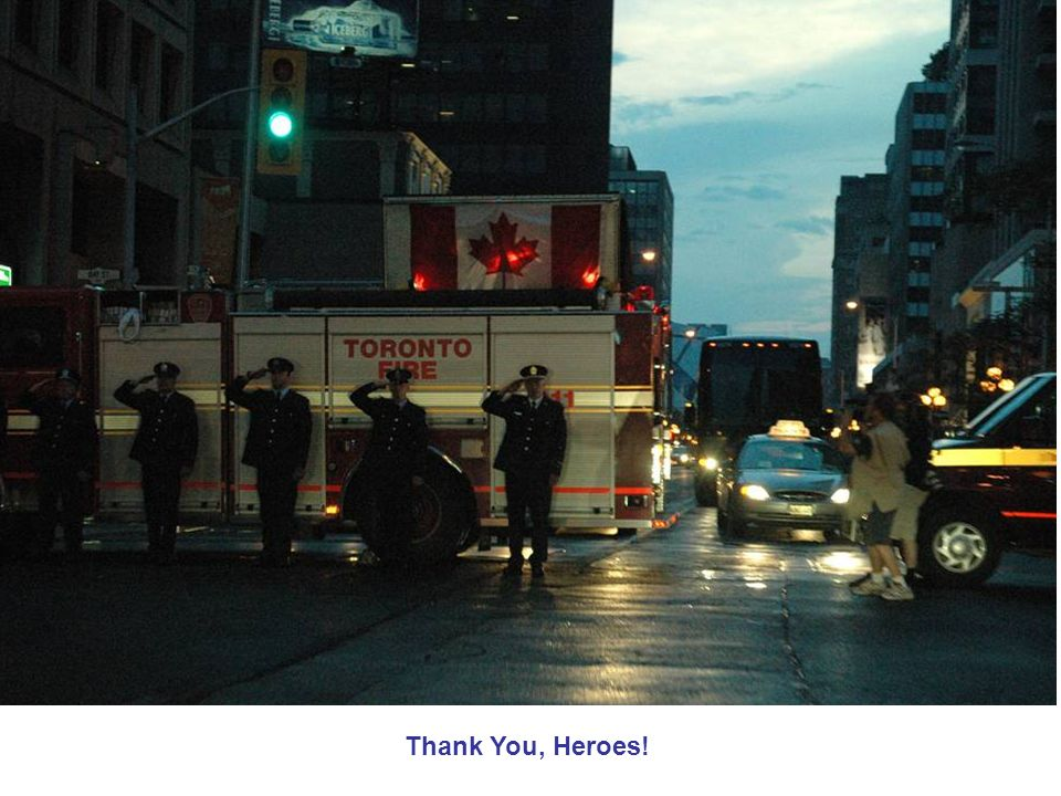 Thank You, Heroes!
