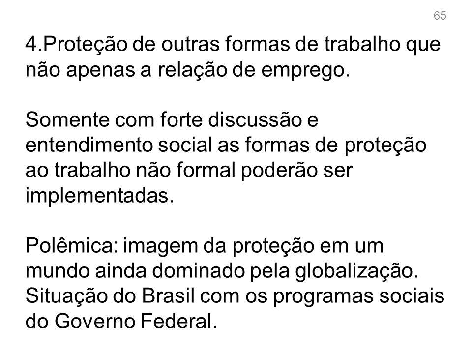 5.Críticas às doutrinas que propagam ideias de Flexibilização e desregulamentação do direito do trabalho.