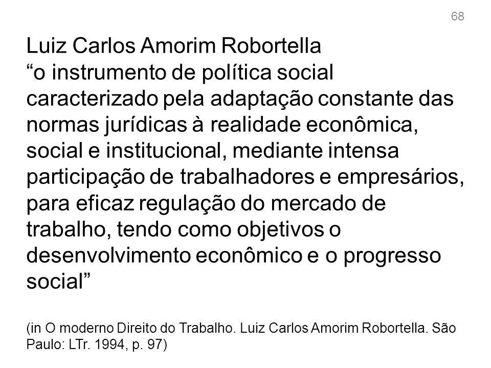 Sérgio Pinto Martins a flexibilização das condições de trabalho é o conjunto de regras que tem por objetivo instituir mecanismos tendentes a compatibilizar as mudanças de ordem econômica, tecnológica, política ou social existentes na relação entre o capital e o trabalho (in Flexibilização das Condições de Trabalho.