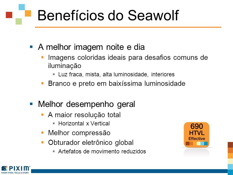 Benefícios do Seawolf A melhor imagem noite e dia Imagens coloridas ideais para desafios comuns de iluminação Luz fraca, mista, alta luminosidade, int