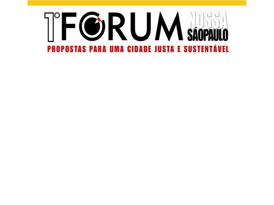 De onde vêm as propostas? Discussão no GT Ambiente/Coletivo Ecologia Urbana (GT/EU) Portal do Nossa São Paulo Outros fóruns de discussão