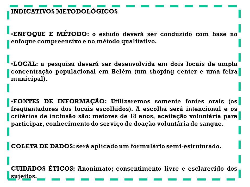 PRÉ-PROJETO DE PESQUISA TEÓRICA