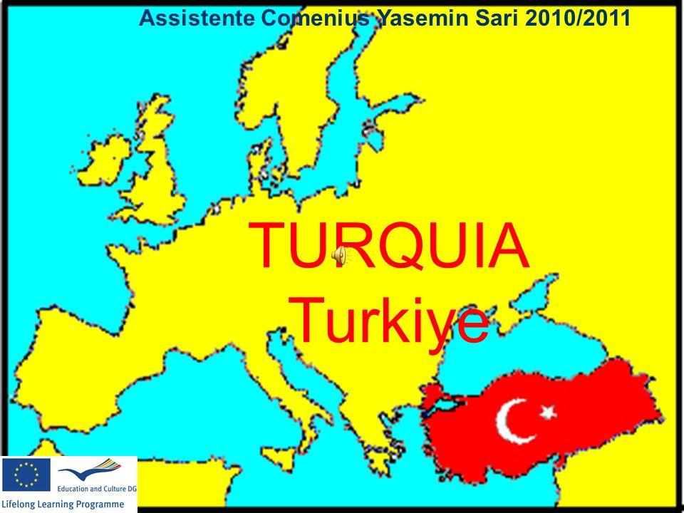TURQUIA Turkiye Assistente Comenius Yasemin Sari 2010/2011