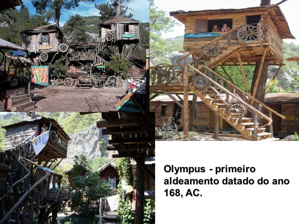 Olympus - primeiro aldeamento datado do ano 168, AC.