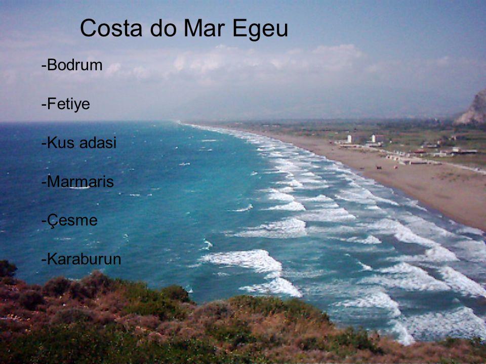 Costa do Mar Egeu -Bodrum -Fetiye -Kus adasi -Marmaris -Çesme -Karaburun