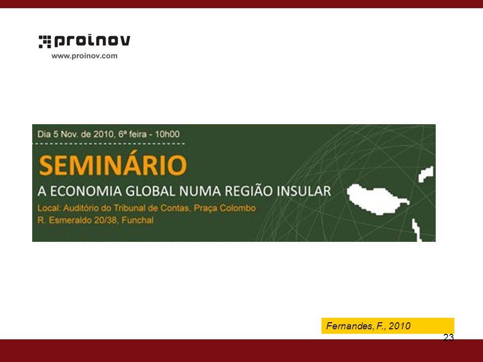 Fernandes, F., 2009 23 Fernandes, F., 2010