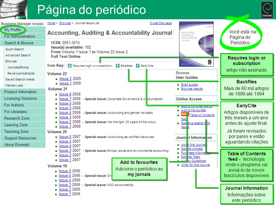 Página do periódico Você está na Página do Periódico Requires login or subscription artigo não assinado Requires login or subscription artigo não assi
