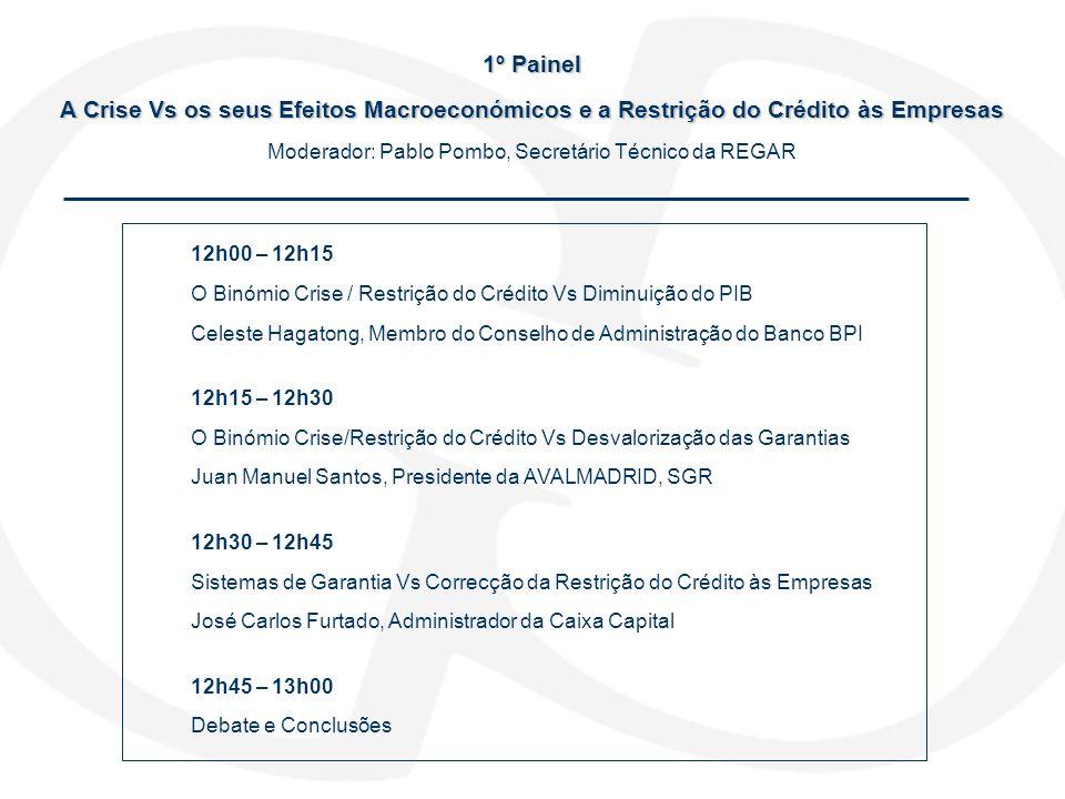 Nota Curricular JOSÉ FURTADO Vice-Presidente do IAPMEI, administrador das holdings dos Grupos IPE e Águas de Portugal.