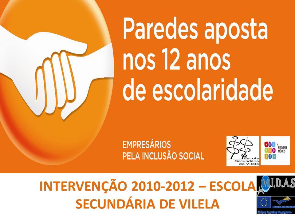 INTERVENÇÃO 2010-2012 – ESCOLA SECUNDÁRIA DE VILELA