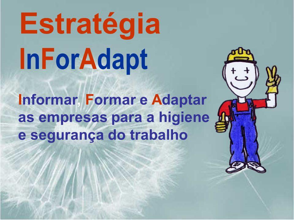 Informar, Formar e Adaptar as empresas para a higiene e segurança do trabalho Estratégia InForAdapt