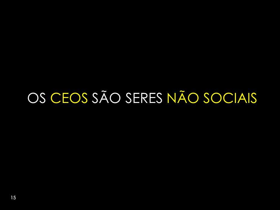 15 OS CEOS SÃO SERES NÃO SOCIAIS