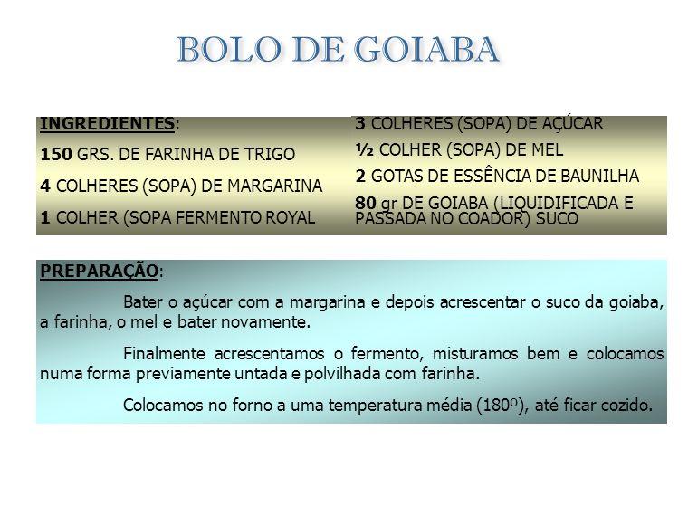 BOLO DE MANDIOCA INGREDIENTES: 150 GRS. DE LEITE DE CÔCO (OU 2 CHÁVENAS DE LEITE COM UM PCT. PEQUENO DE CÔCO RALADO) 6 CHÁVENAS DE MANDIOCA CRUA RALAD