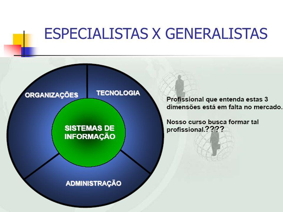 12 ESPECIALISTAS X GENERALISTAS ????