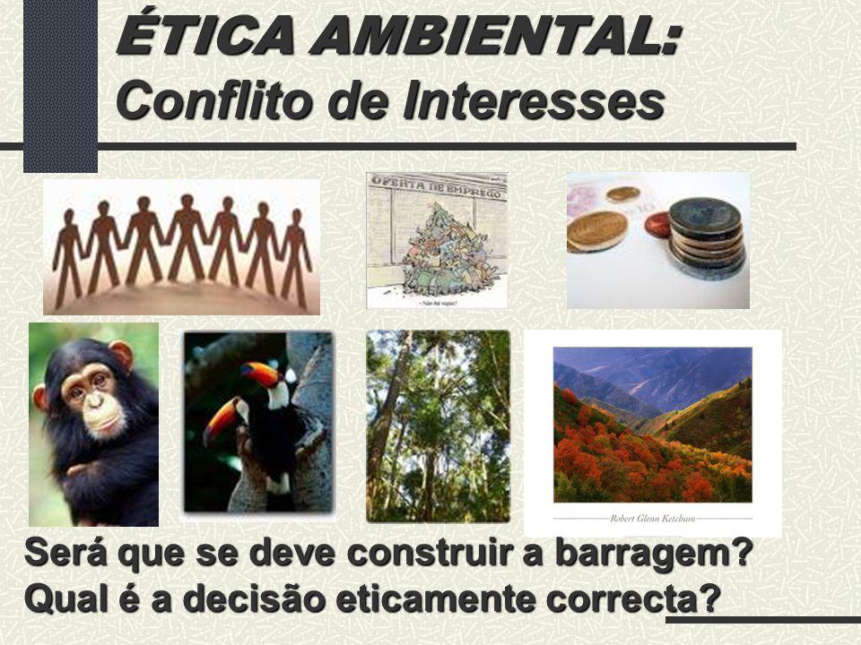 ÉTICA AMBIENTAL: O Problema do Estatuto Moral Quais os seres que possuem estatuto moral.