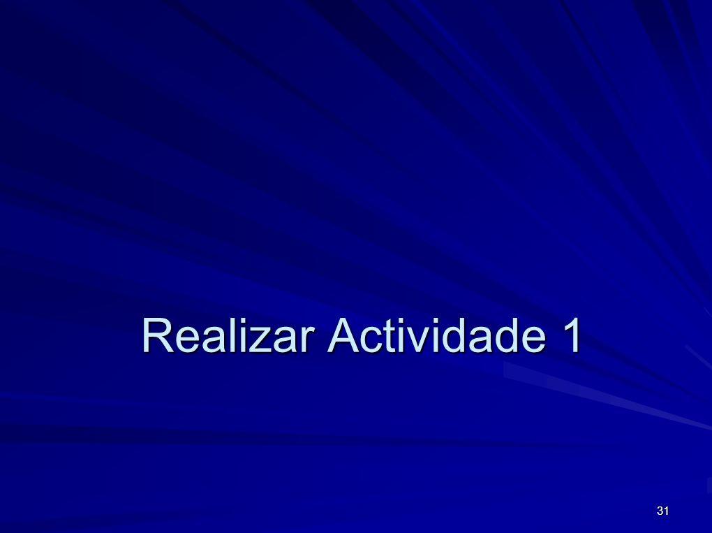31 Realizar Actividade 1