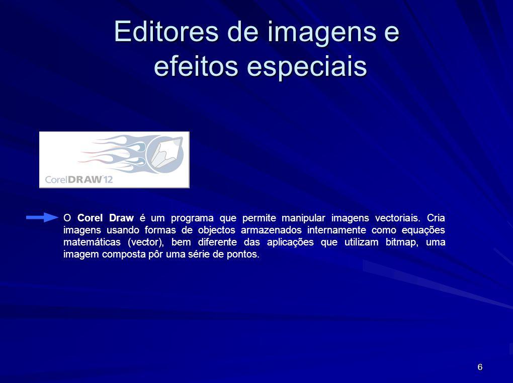 7 Ulead GIF Animator é um software de produção de imagens animadas.