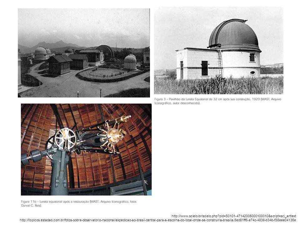 http://www.scielo.br/scielo.php?pid=S0101-47142005000100010&script=sci_arttext http://topicos.estadao.com.br/fotos-sobre-observatorio-nacional/expedic