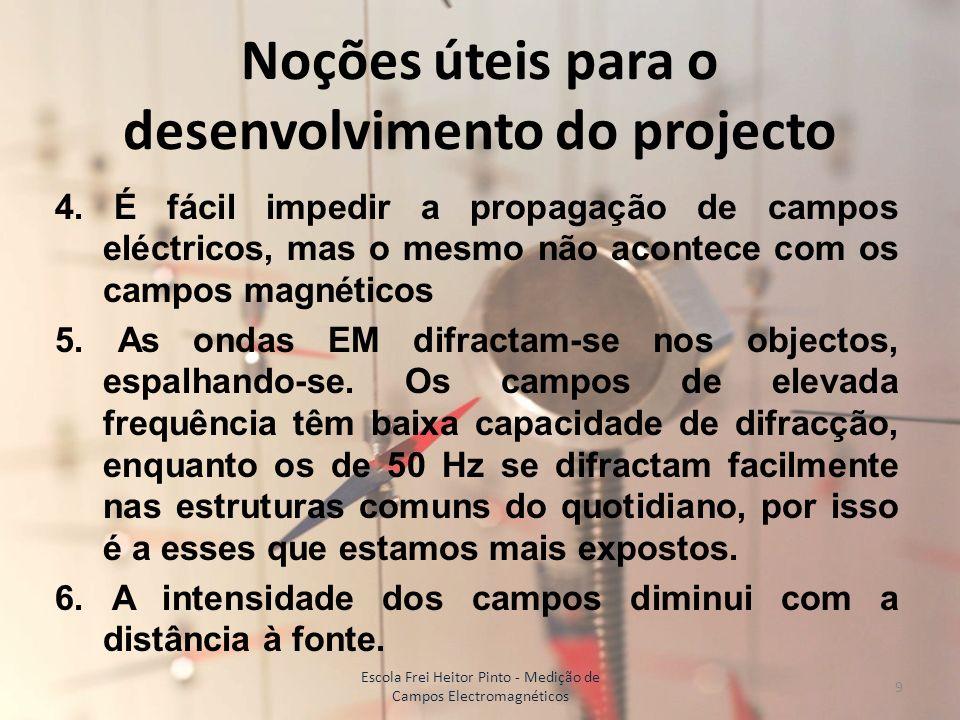 Noções úteis para o desenvolvimento do projecto 7.