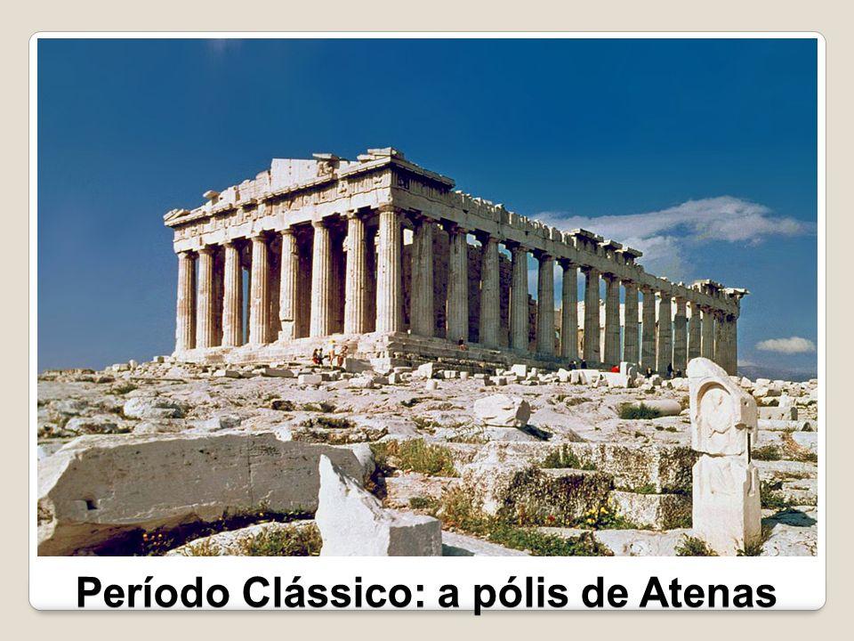 Atenas destacou-se como o maior centro cultural, político e econômico da Grécia.