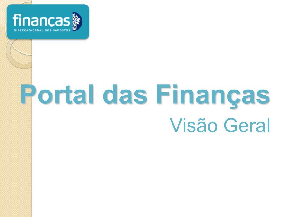Visão Geral Portal das Finanças
