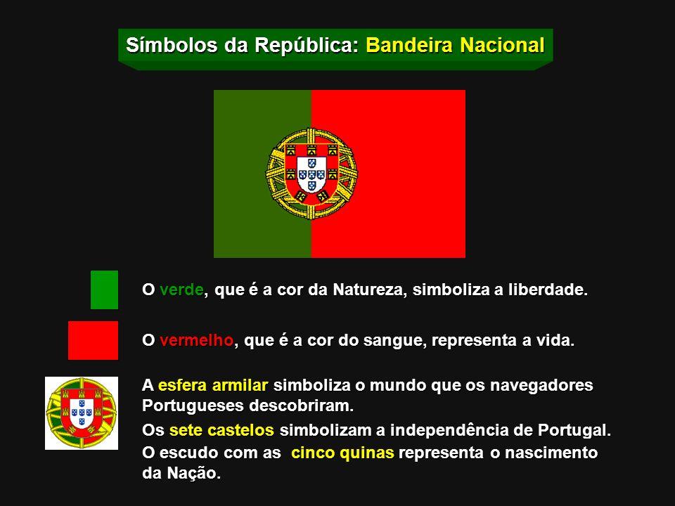 Símbolos da República: Hino Nacional A Portuguesa