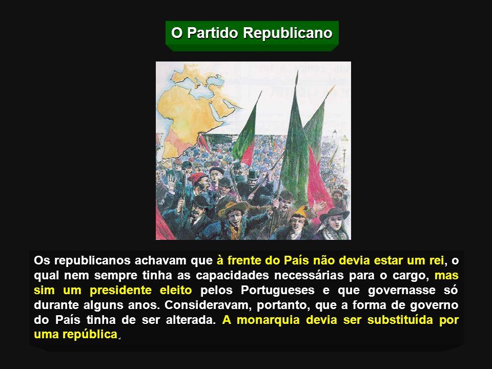 O Governo viu-se obrigado a aceitar o Ultimato, o que provocou manifestações de descontentamento. Em 14 de Janeiro de 1890, o Partido Republicano Port