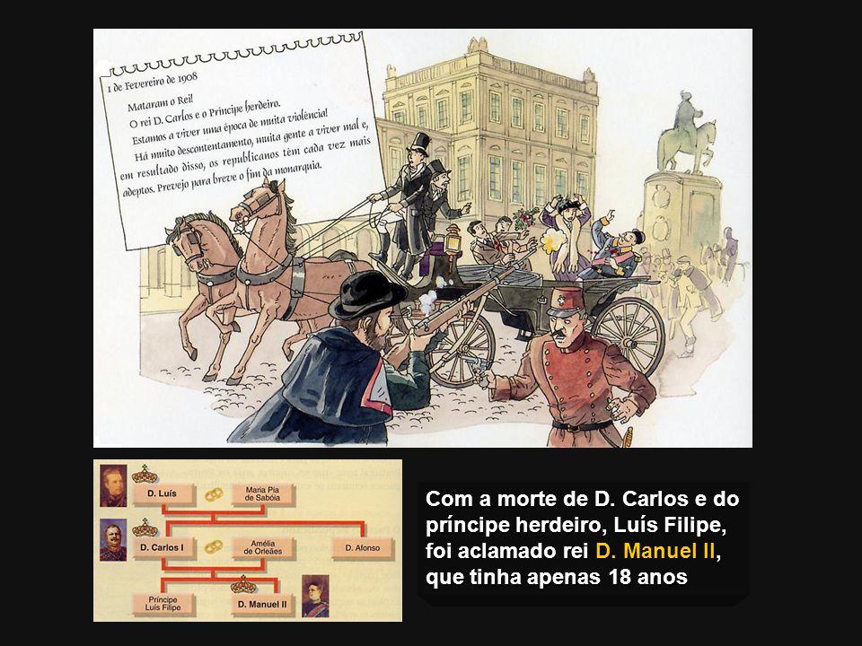 O 31 de Janeiro de 1891 O Regicídio Em 31 de Janeiro de 1891 deu-se, no Porto, a primeira revolta armada contra a monarquia. A guarda municipal, fiel