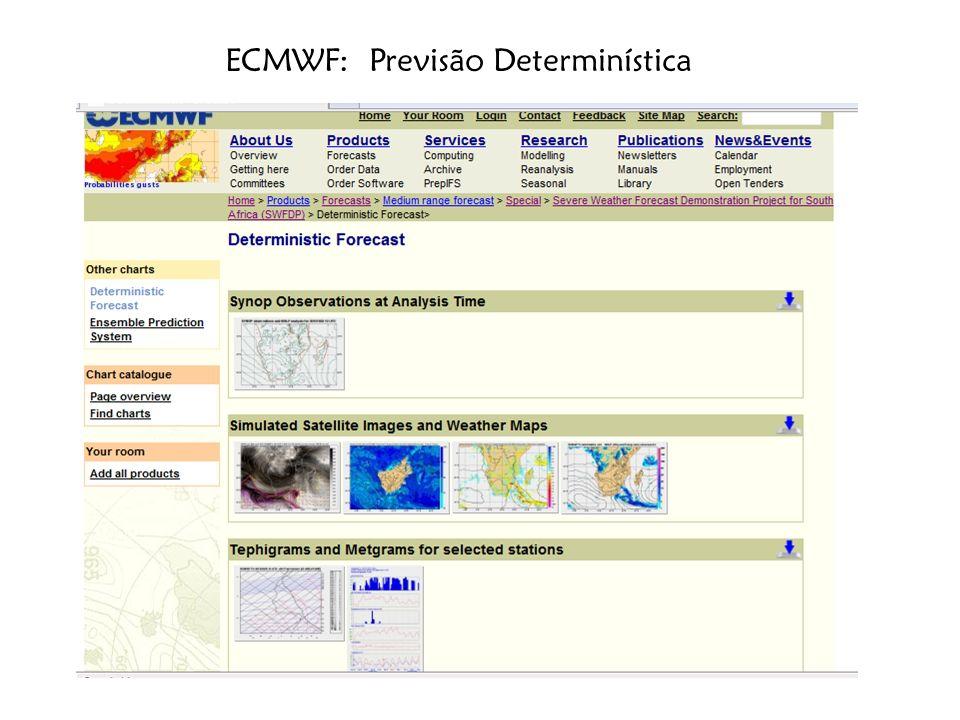 10/31/201319 Previsão Deterministica: NOAA/NCEP GFS