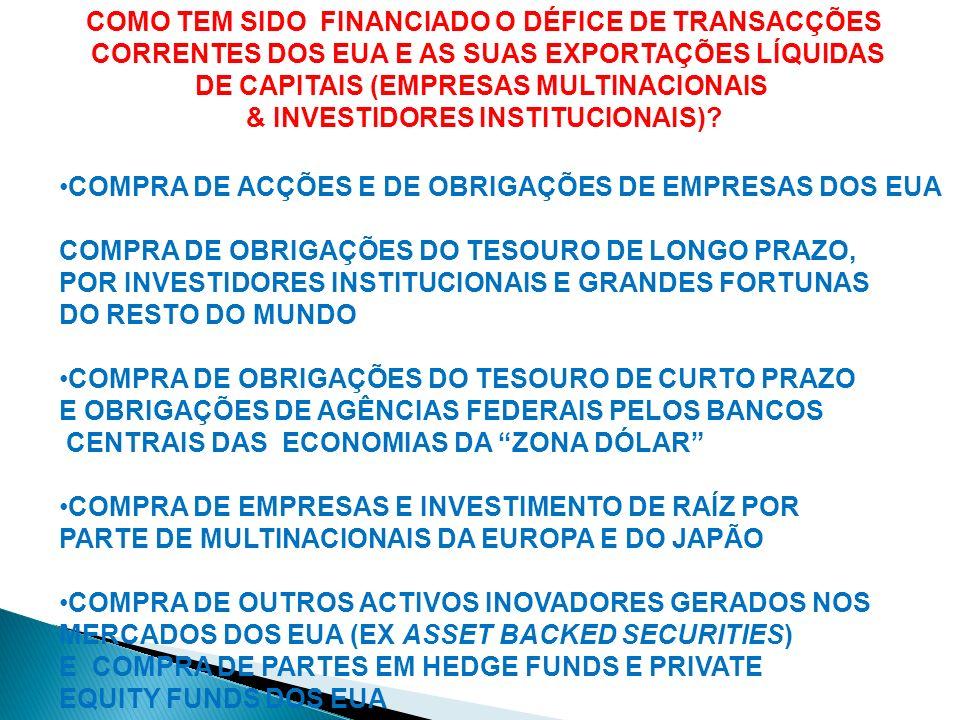 2000-2006-UMA PROCURA EXCEPCIONALMENTE FORTE DE ACTIVOS FINANCEIROS COM RATINGS AAA NAS ORIGENS DA CRISE FINANCEIRA