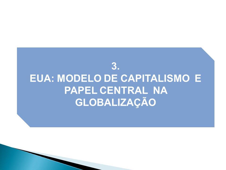 3. EUA: MODELO DE CAPITALISMO E PAPEL CENTRAL NA GLOBALIZAÇÃO