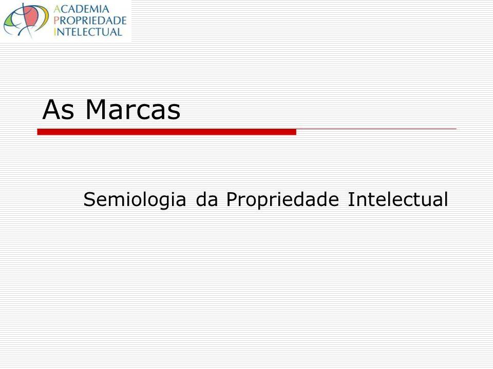 As Marcas Semiologia da Propriedade Intelectual
