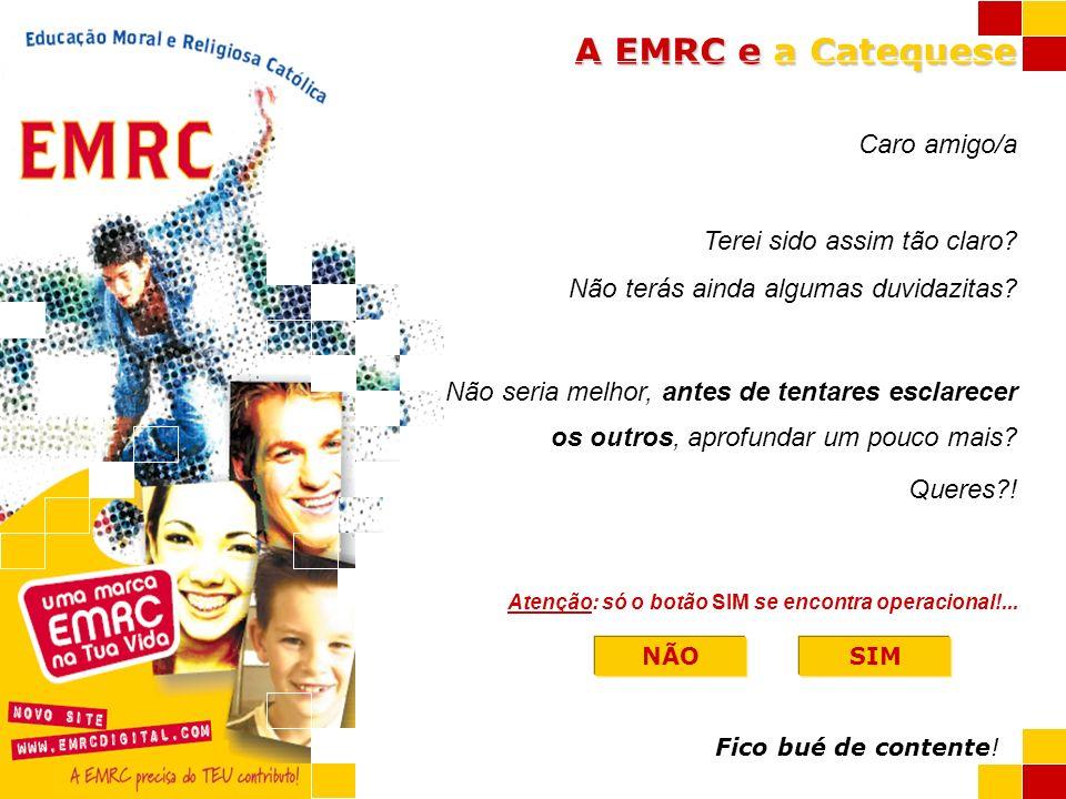 A EMRC e a Catequese STOP
