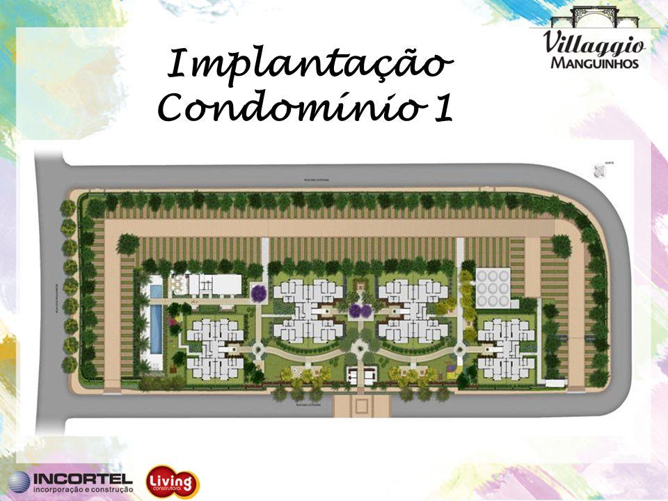 Implantação Condomínio 1