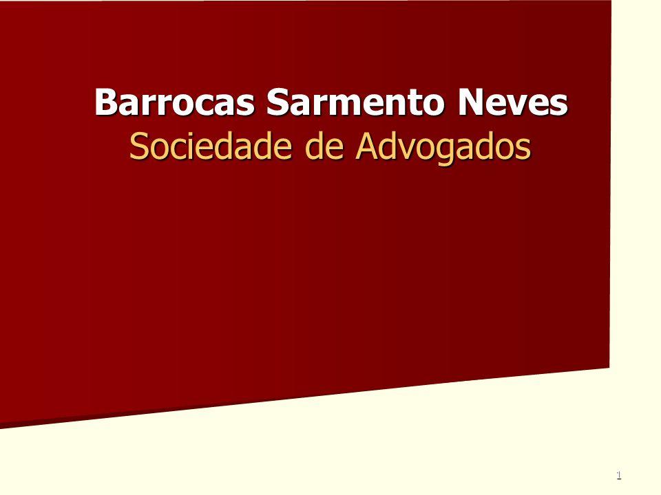 1 Barrocas Sarmento Neves Sociedade de Advogados