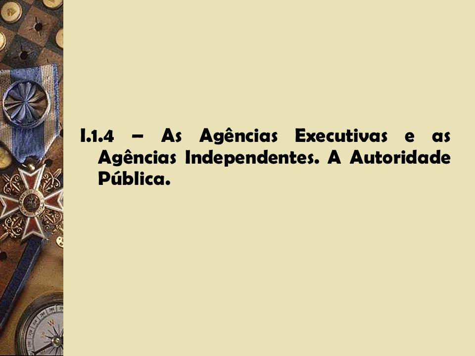 I.1.3 – Dois modelos básicos de Agências: Adjudication e Rulemaking. Distinções essenciais.