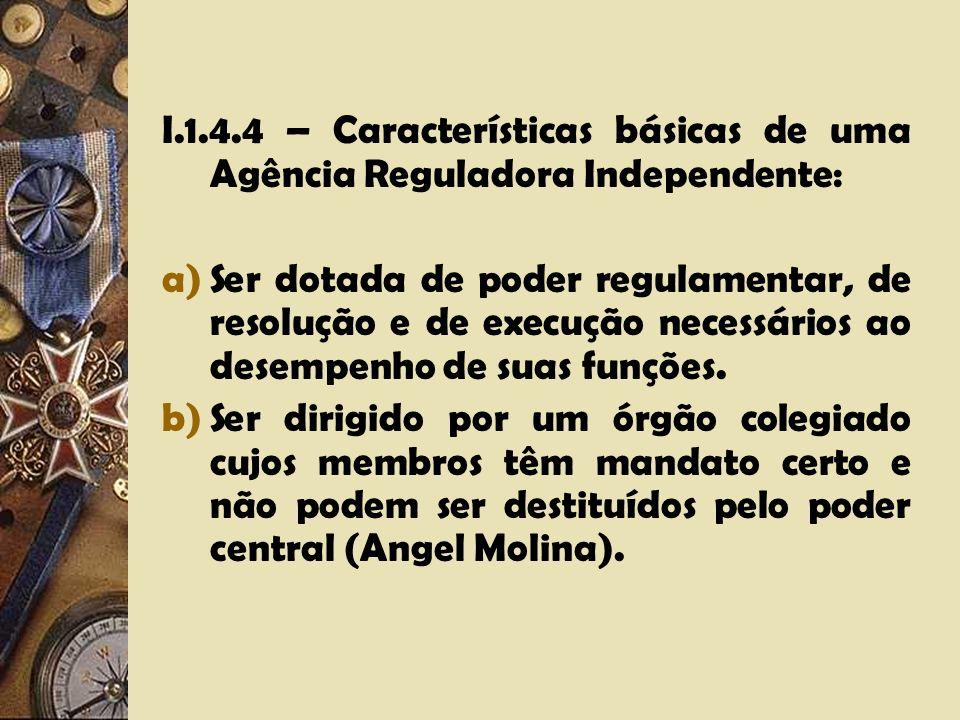 I.1.4.3 – As Agências Independentes como gênero e as Agências Reguladoras como espécie. O papel do Enabling Act.