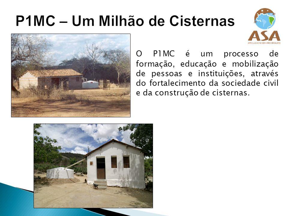 O P1MC é um processo de formação, educação e mobilização de pessoas e instituições, através do fortalecimento da sociedade civil e da construção de ci