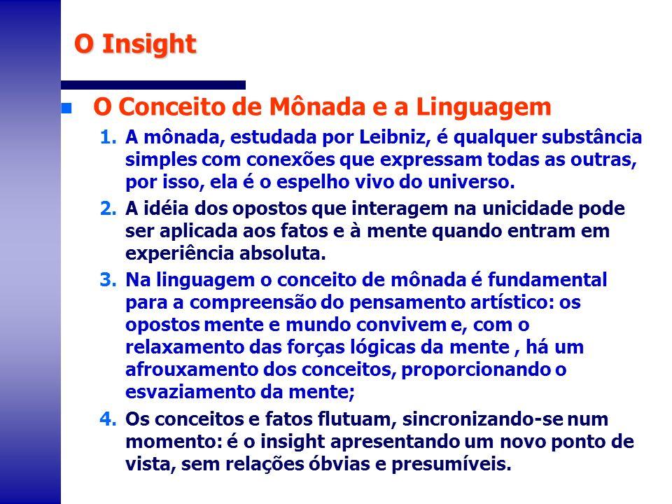 n O Conceito de Mônada e a Linguagem 1.A mônada, estudada por Leibniz, é qualquer substância simples com conexões que expressam todas as outras, por i