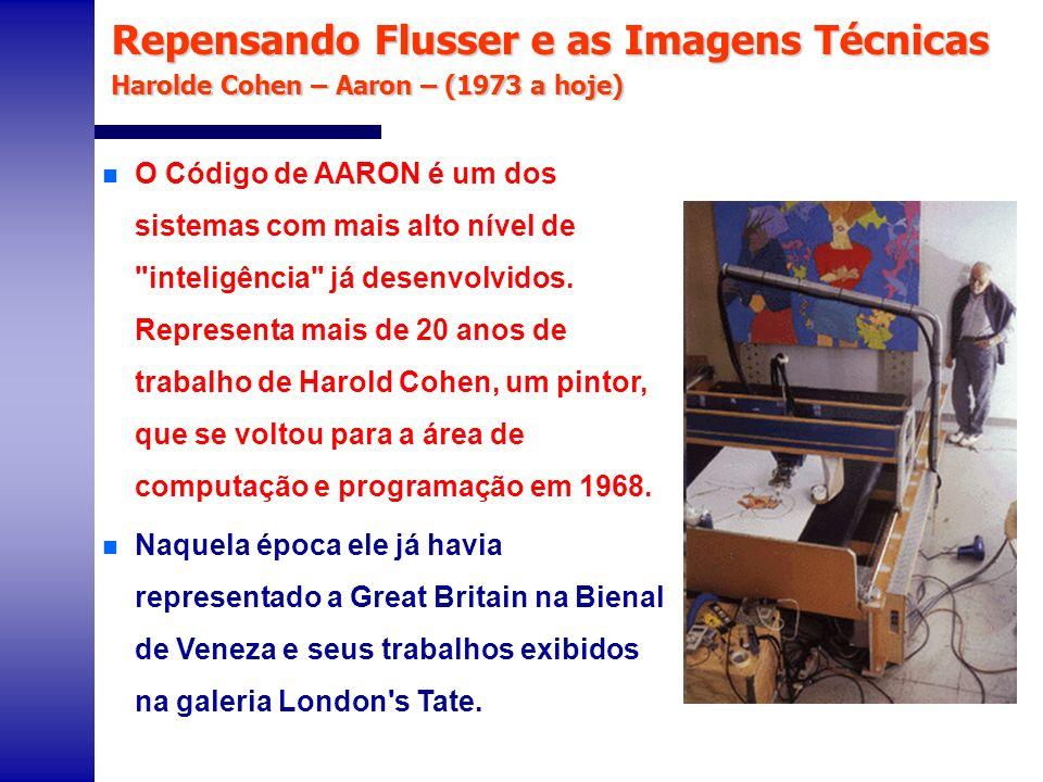 n De acordo com Michael Compton, Harold Cohen era um artista como qualquer outro da Inglaterra na sua geração.