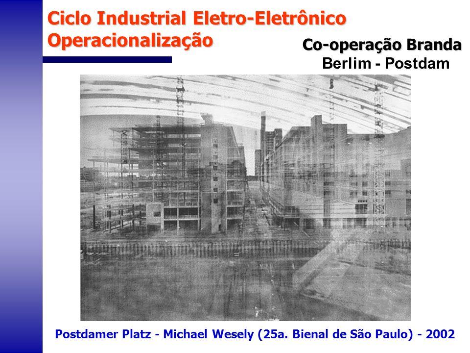Berlim - Postdam Postdamer Platz - Michael Wesely (25a. Bienal de São Paulo) - 2002 Co-operação Branda Ciclo Industrial Eletro-Eletrônico Operacionali