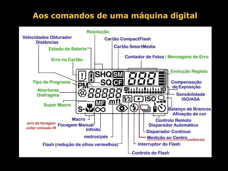 Aos comandos de uma máquina digital